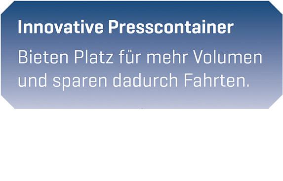 Presscontainer Abfallentsorgung Göttingen - Resebeck