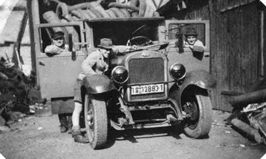 Resebeck Fotografie aus der Geschichte