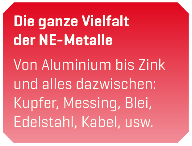 NE-Metalle Entsorgung Annahme Göttingen - Resebeck