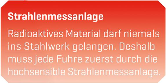 Strahlenmessanlage Schrott Entsorgung Göttingen - Resebeck